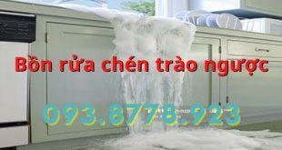 Bồn rửa chén trào ngược xử lý như thế nào triệt đ ?