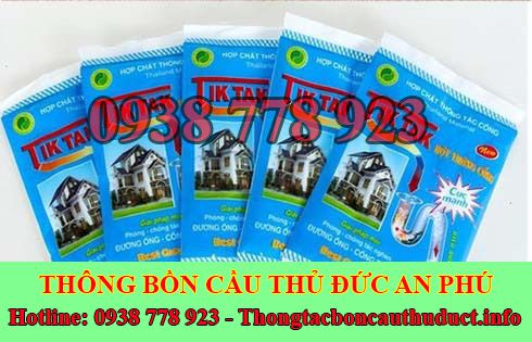 Bán bột thông bồn cầu Quận Thủ Đức giá rẻ 0938778923