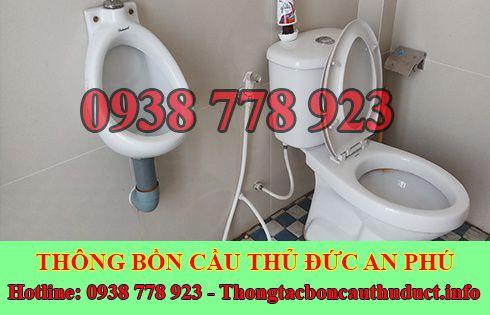 Thông bồn cầu dội nước không xuống Quận Thủ Đức 0938778923