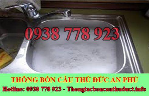 Thông bồn rửa chén bát trào ngược Quận Thủ Đức 0938778923