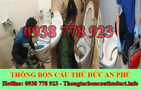 Thông bồn cầu toilet quận Thủ Đức An Phú