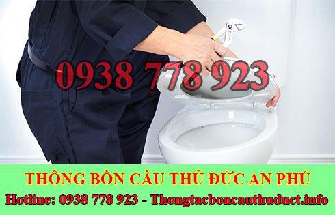 Xử lý chống mùi hôi bồn cầu toilet nhà vệ sinh Quận Thủ Đức An Phú.