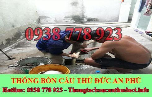 Sửa cống nghẹt Quận Thủ Đức giá rẻ 0938778923 BH 5năm