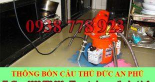 Thông cầu cống nghẹt Quận Thủ Đức An Phú 0938778923