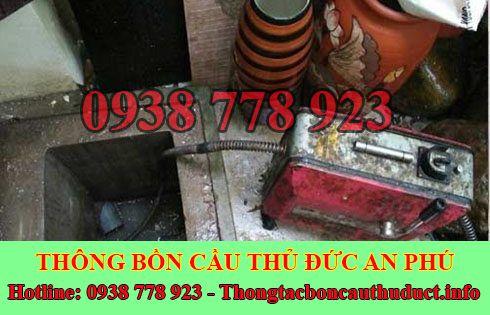 Thông đường ống nước bị tắc nghẹt Quận Thủ Đức 0938778923