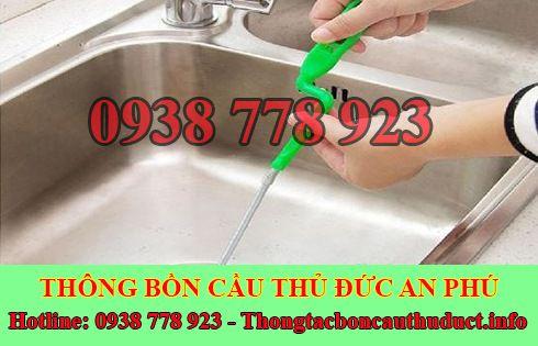 Thợ thông tắc bồn rửa mặt lavabo Quận Thủ Đức 0938778923