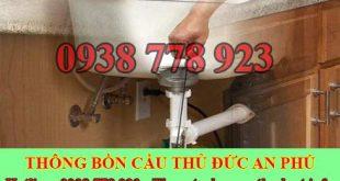 Thông tắc bồn rửa chén Quận Thủ Đức An Phú 0938778923