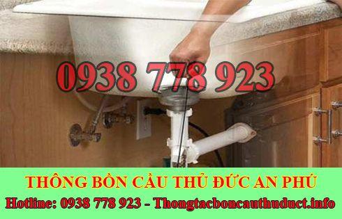 Thông tắc bồn chậu rửa chén bát Quận Thủ Đức 0938778923