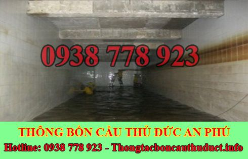 Bảng giá vệ sinh bể chứa nước ngầm Quận Thủ Đức 0938778923