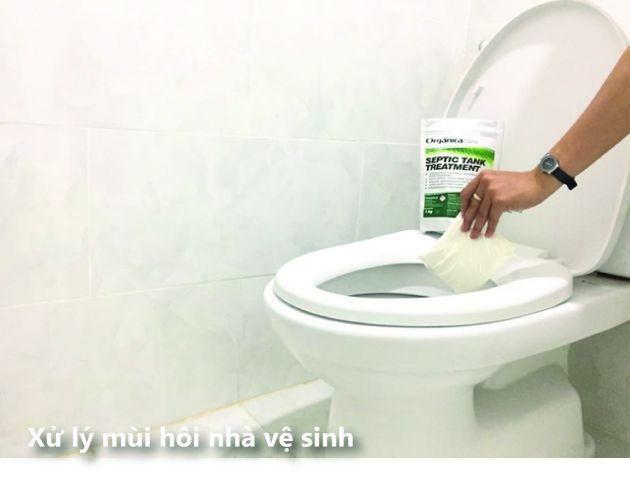xử lý mùi hôi