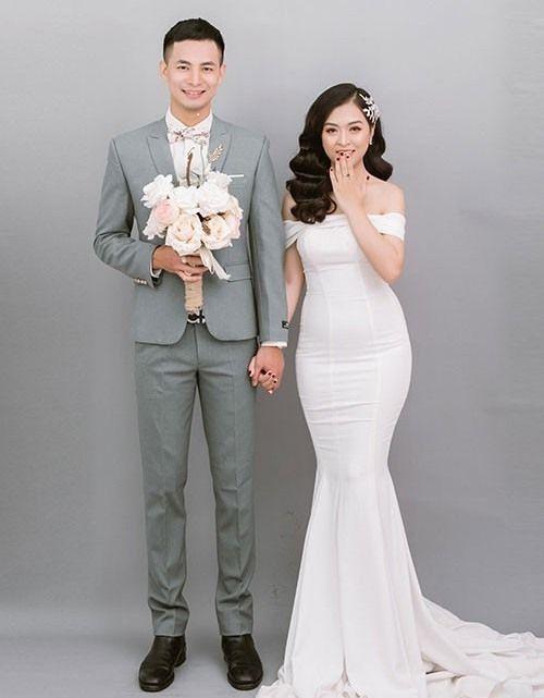 diễn viên Mạnh Cường và vợ